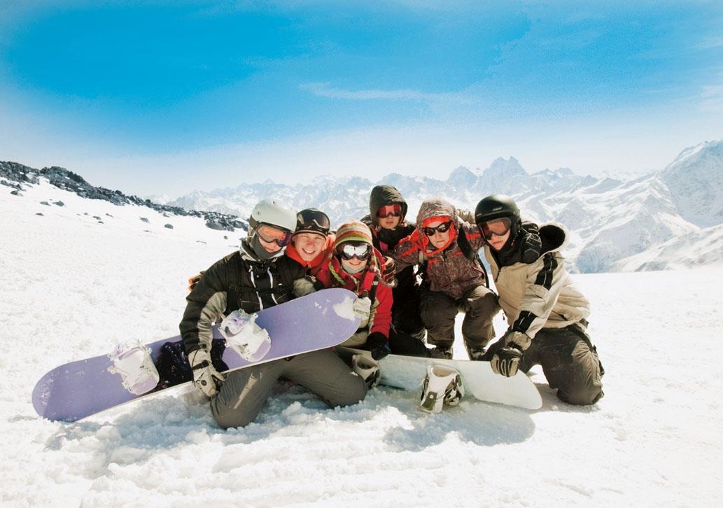 חופשת סקי למתחילים